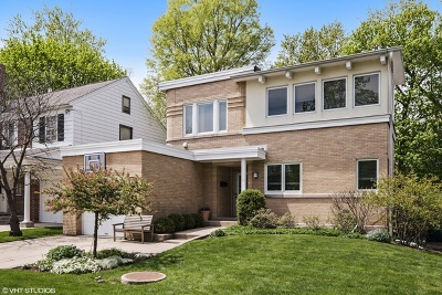 Wilmette Single Family Home For Sale: 1231 16th Street