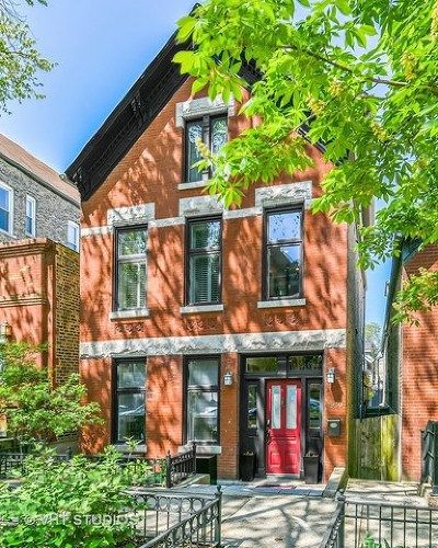 Wicker Park, Bucktown Single Family Home New: 1930 North Honore Street