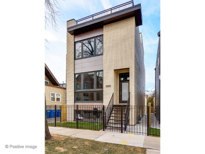 Chicago Single Family Home New: 2236 West Shakespeare Avenue
