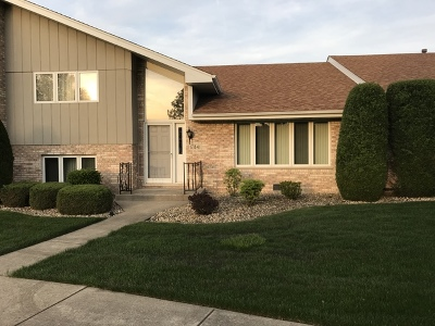 Orland Park Condo/Townhouse New: 17841 Maine Court