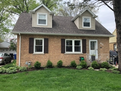 Mount Prospect Single Family Home For Sale: 412 North Emerson Street