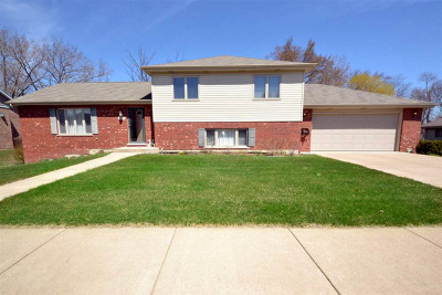 Tinley Park Single Family Home For Sale: 7012 182nd Street