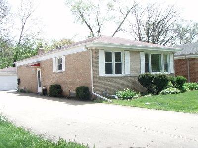 Wilmette Single Family Home For Sale: 628 Laramie Avenue