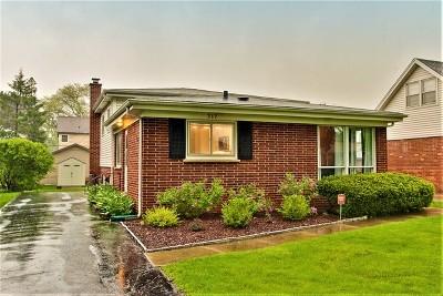 Mount Prospect Single Family Home New: 317 North Elmhurst Avenue
