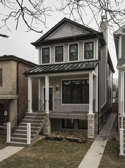 Chicago Single Family Home New: 6739 North Oxford Avenue