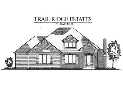 St. Charles Single Family Home For Sale: 5n407 South Ridge (Lot 8) Lane