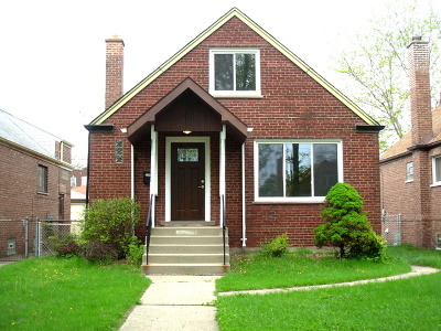 Chicago IL Single Family Home New: $269,000