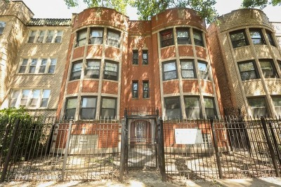 Chicago Multi Family Home New: 8205 South Drexel Avenue