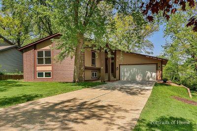 Lisle Single Family Home Price Change: 1960 Green Trails Drive