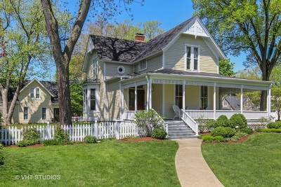 Hinsdale Single Family Home For Sale: 136 North Washington Street