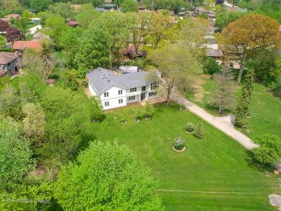 Burr Ridge Single Family Home New: 8602 South Wolf Road