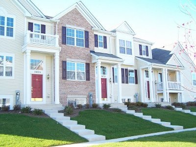 Plainfield Condo/Townhouse New: 24721 Patriot Square Drive South