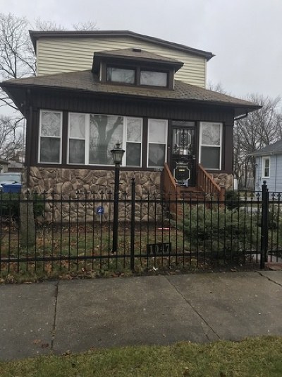 Single Family Home For Sale: 1047 West 104th Street