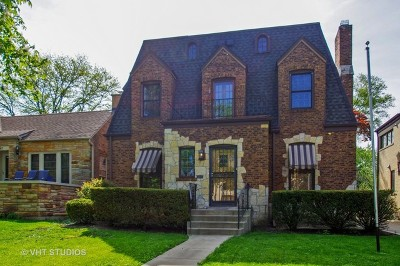 Chicago Single Family Home New: 6033 North Forest Glen Avenue