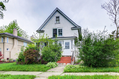 Hinsdale Single Family Home Re-Activated: 636 South Madison Street