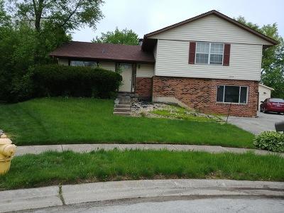 Hazel Crest Single Family Home New: 3515 Bordeaux Court