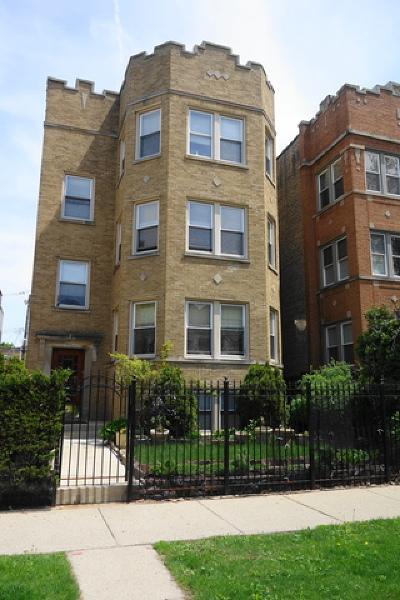 Multi Family Home New: 6331 North Oakley Avenue