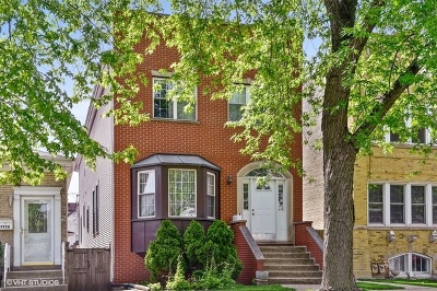 Chicago Single Family Home New: 2930 North Rockwell Street