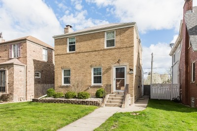 Chicago Single Family Home New: 7324 West Farwell Avenue