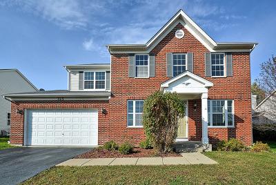 Oswego Single Family Home New: 525 Secretariat Lane