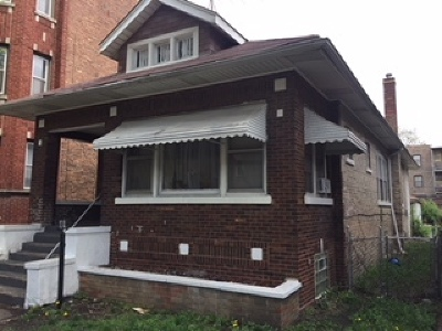 Chicago IL Single Family Home New: $93,000