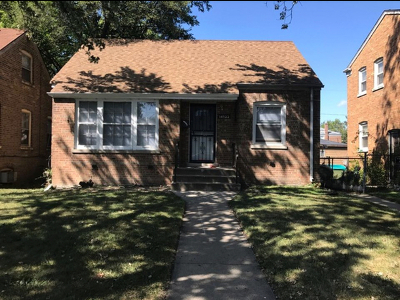 Single Family Home For Sale: 14522 South Dearborn Street