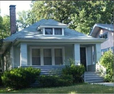 Single Family Home For Sale: 1733 West 100th Place