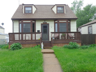 Chicago Single Family Home New: 11014 South Sawyer Avenue
