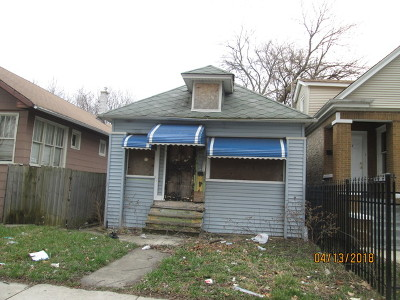 Chicago Single Family Home New: 8529 South Aberdeen Street