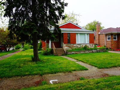 Dolton  Single Family Home For Sale: 14248 Minerva Avenue
