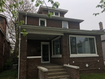 Calumet City Single Family Home New: 595 Douglas Avenue
