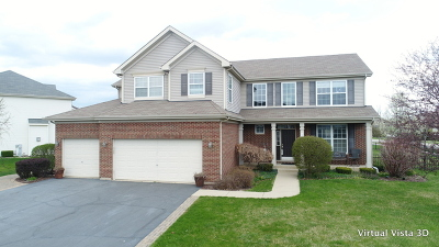 Bartlett IL Single Family Home New: $419,000