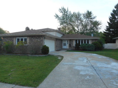 Tinley Park Single Family Home New: 17235 71st Court