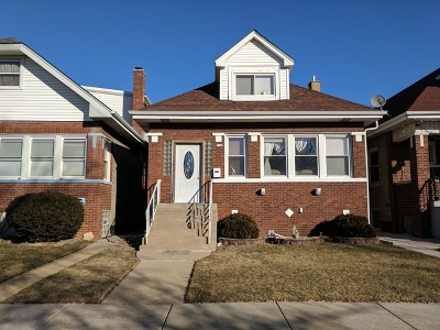 Chicago IL Single Family Home New: $305,000
