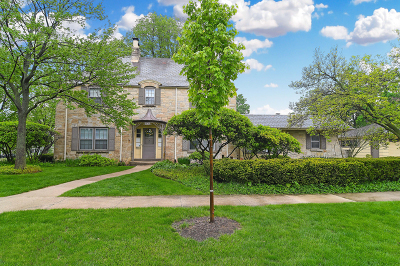 Hinsdale Single Family Home New: 107 South Park Avenue