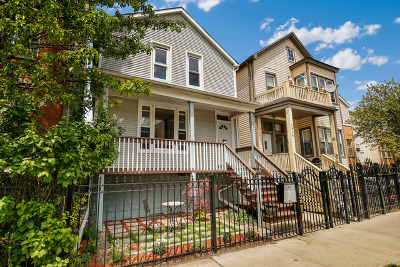 Chicago Single Family Home New: 2872 West Palmer Street