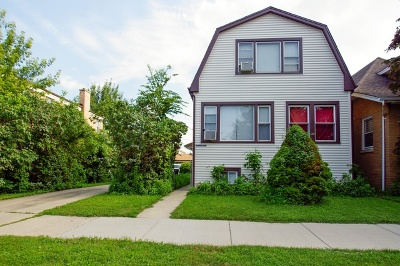 Chicago Single Family Home New: 5851 West Gunnison Street