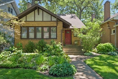 Wilmette Single Family Home For Sale: 829 Linden Avenue