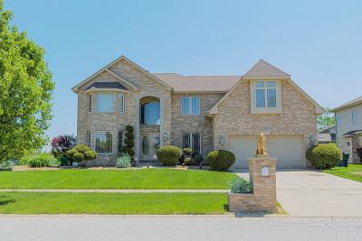 Matteson Single Family Home For Sale: 21201 Alessandra Drive