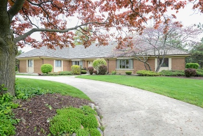 Oak Brook Single Family Home Contingent: 406 Midwest Club Parkway