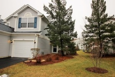 Lake In The Hills Rental For Rent: 122 Polaris Drive #122