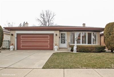 Chicago Single Family Home New: 6816 North Algonquin Avenue