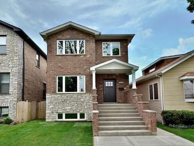 Chicago Single Family Home New: 3760 North Octavia Avenue