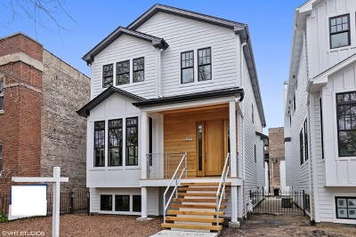 Chicago Single Family Home New: 1702 West Farragut Avenue