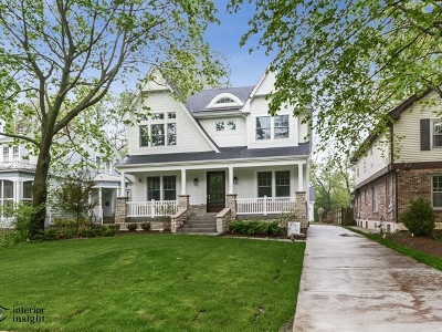 River Forest Single Family Home Price Change: 831 Forest Avenue