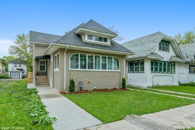 Chicago Single Family Home New: 1048 North Lockwood Avenue