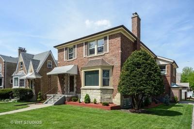 Chicago Single Family Home New: 3258 North Newcastle Avenue