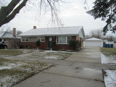 South Holland Single Family Home New: 929 East 166th Street