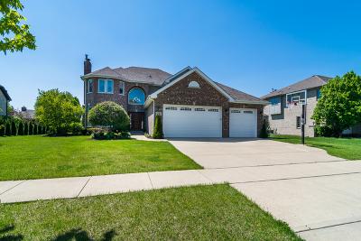 Lemont Single Family Home New: 12962 Klappa Drive