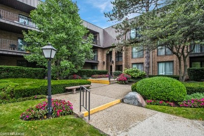 Northbrook Condo/Townhouse For Sale: 3 The Court Of Harborside #307